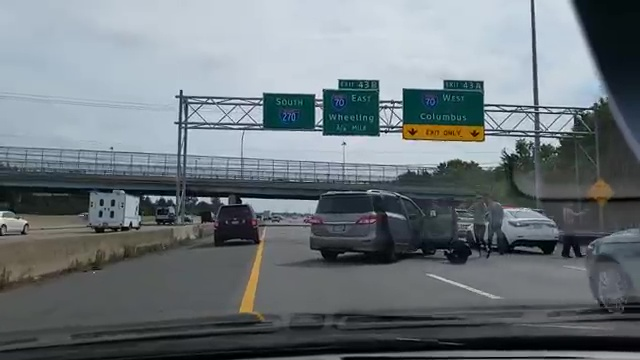 One person injured in multi-car accident on I-270 south on