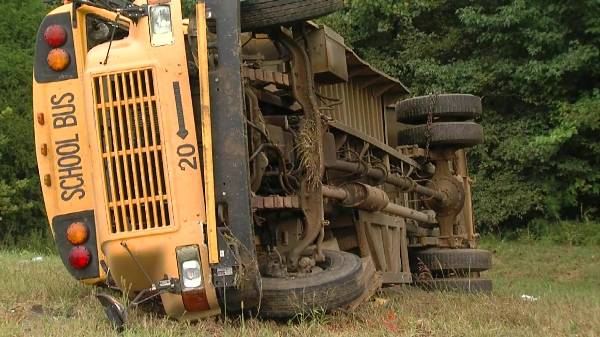 School bus driver killed, children injured in Mississippi