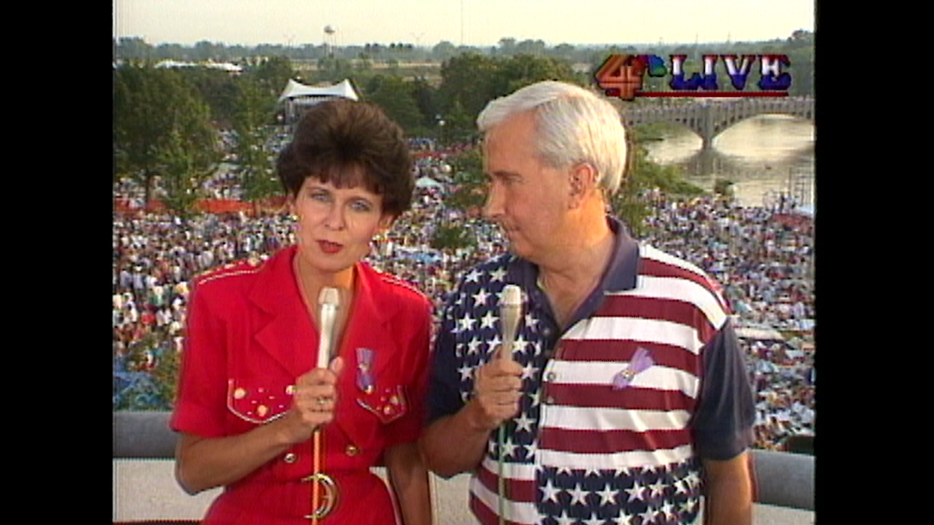 Colleen and Doug at Red, White and Boom!