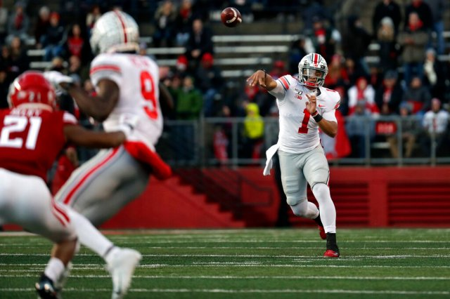 Buckeyes remain in second place in this week's College Football Playoff Rankings
