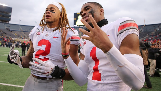 Ohio State's Justin Fields, Chase Young named finalists for Walter Camp Player of the Year Award