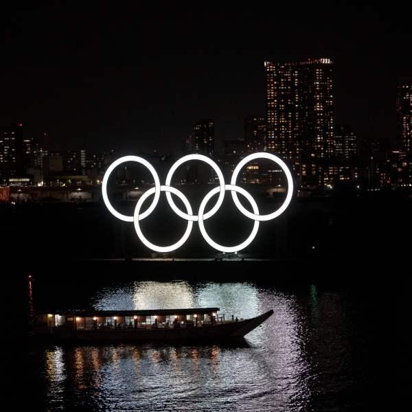 Tokyo-Olympic rings