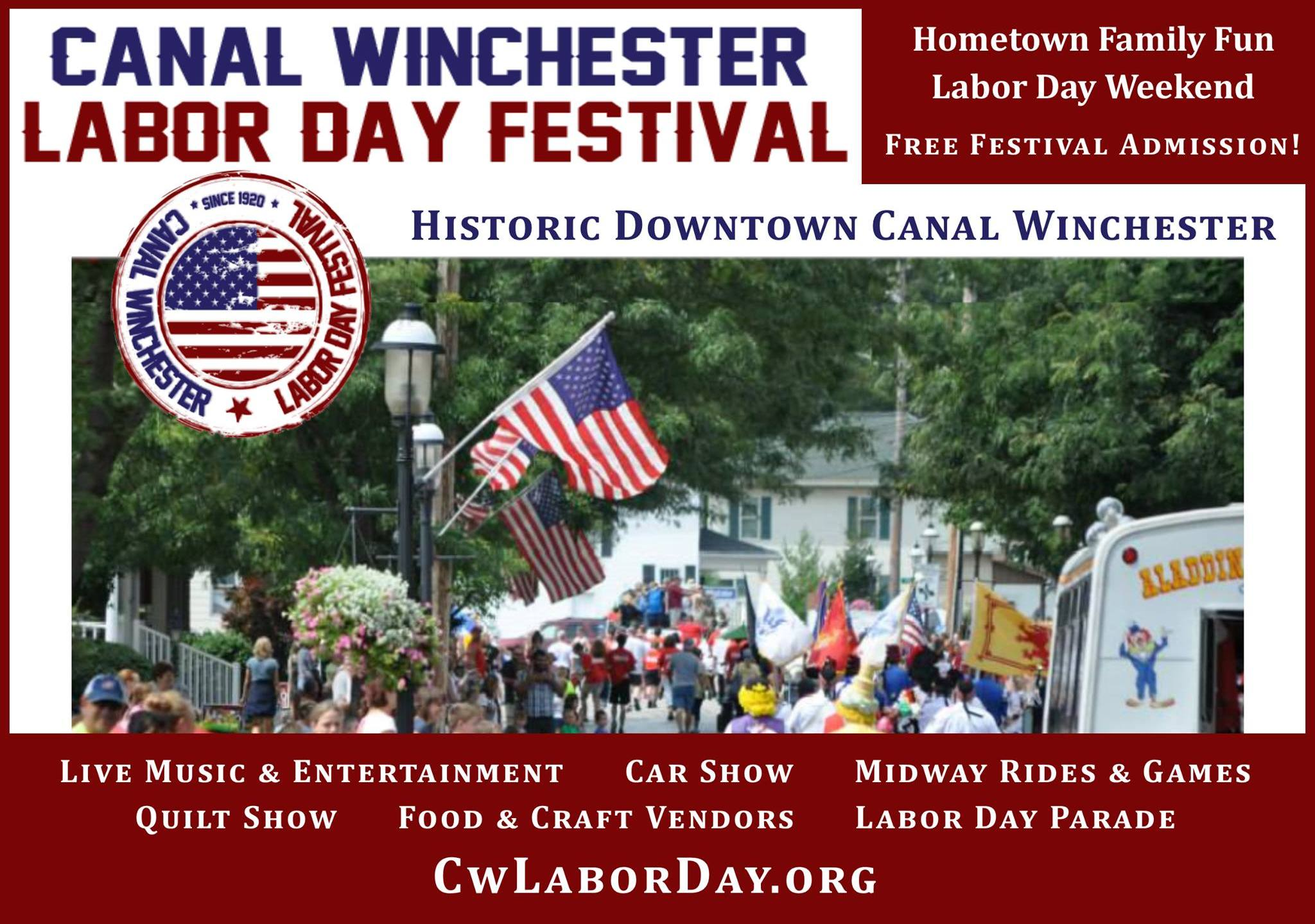 Winchester Halloween Parade 2020 Canal Winchester Labor Day Festival cancelled | NBC4 WCMH TV