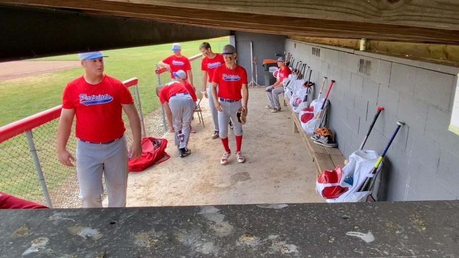 Mid-Ohio Patriots 17U baseball team