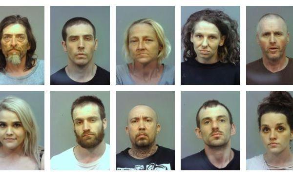 vinton county arrests