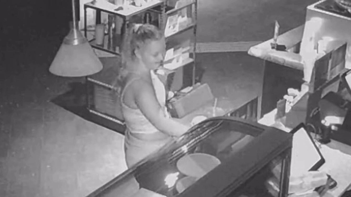 suspected looter Columbus Ohio