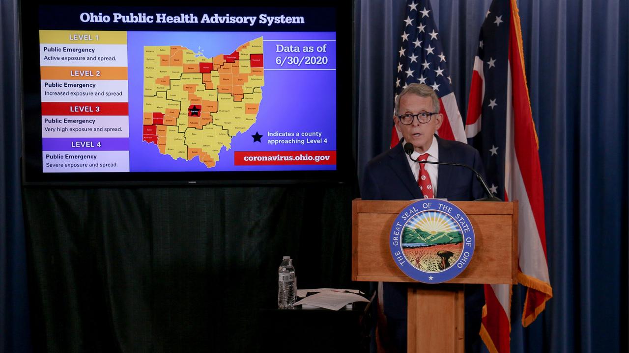 Coronavirus In Ohio Thursday Update 1 301 New Covid 19 Cases Reported Nbc4 Wcmh Tv