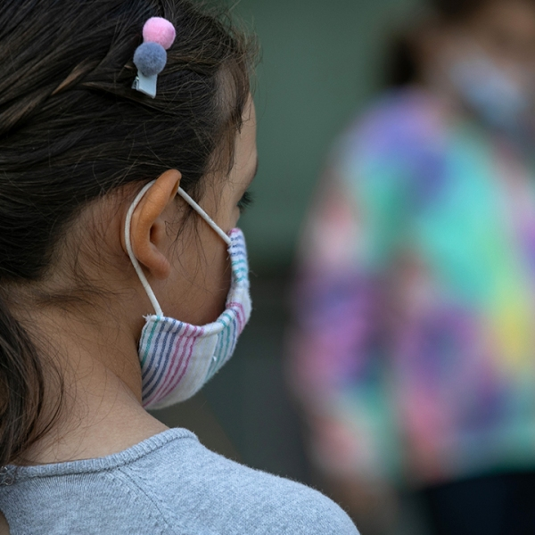Student child covid mask