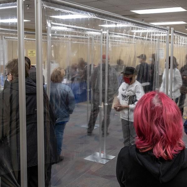 Toledo voting barriers