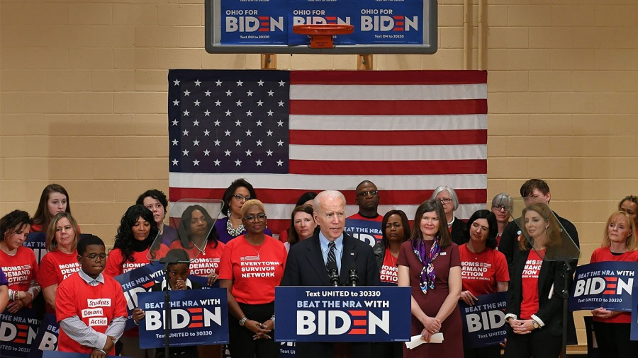 Biden Columbus guns Moms Demand Action