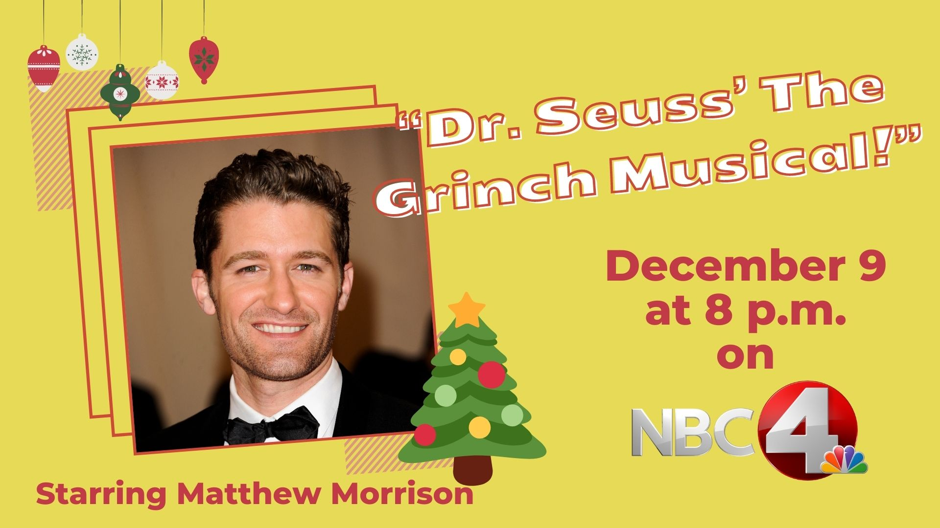 NBC to air holiday special 'Dr. Seuss' The Grinch Musical!' | NBC4