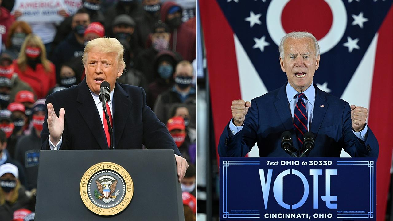 Trump Biden combo Ohio