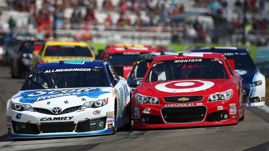 Montoya Allmendinger Watkins Glen NASCAR 2013