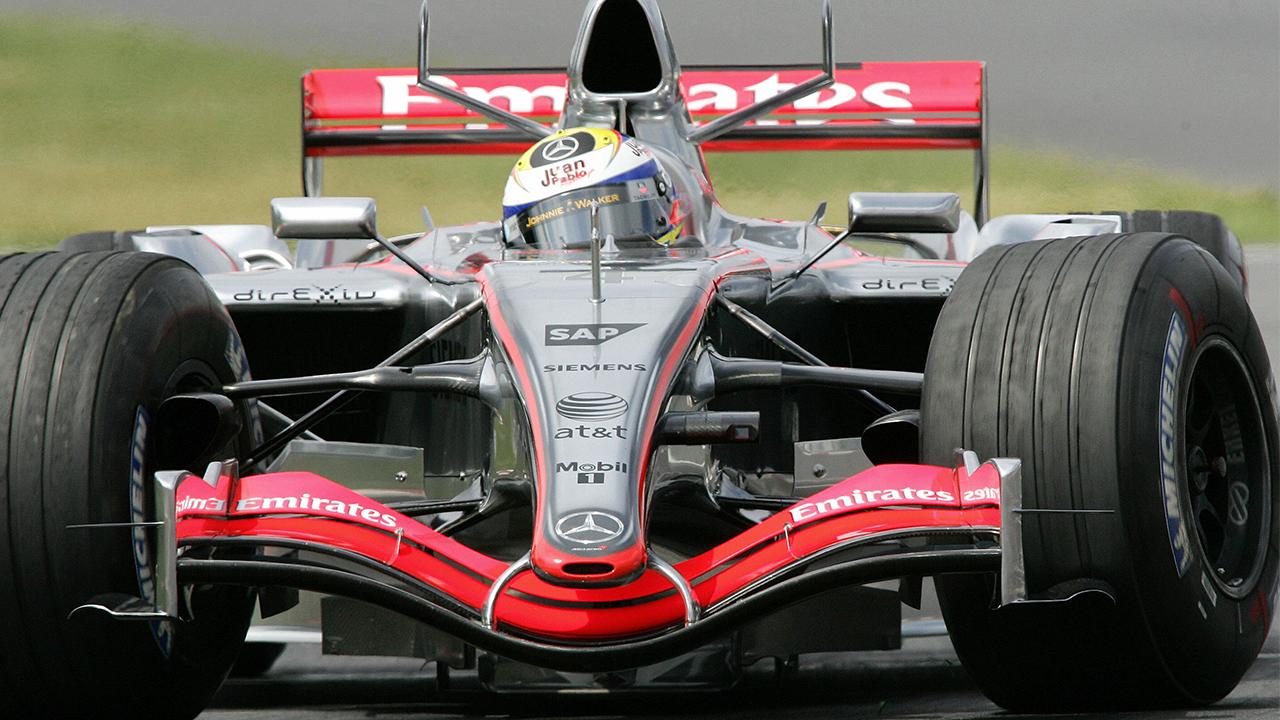 Montoya Formula One