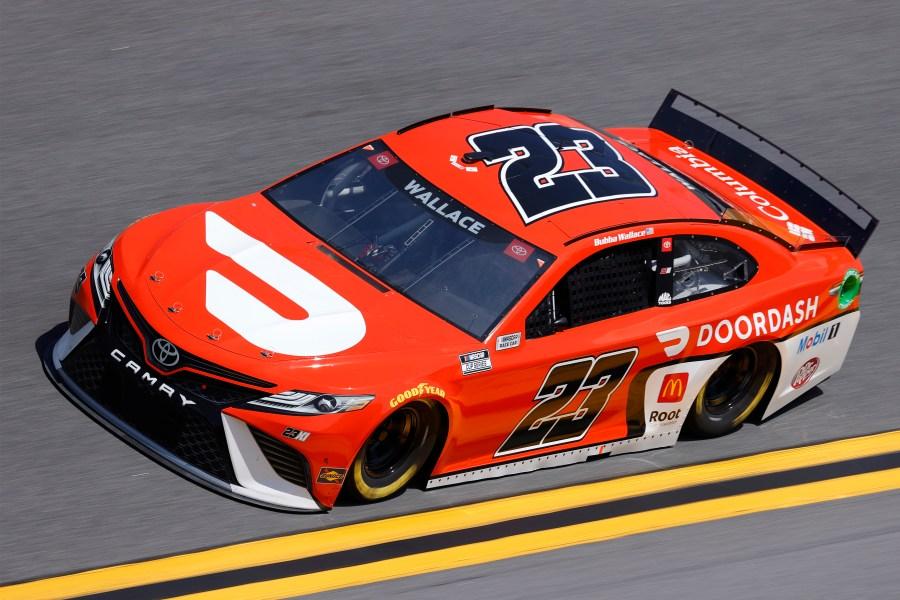 Bubba Wallace 2021 Daytona 500 practice