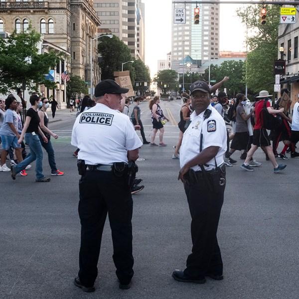 Columbus police protest June 2 2020