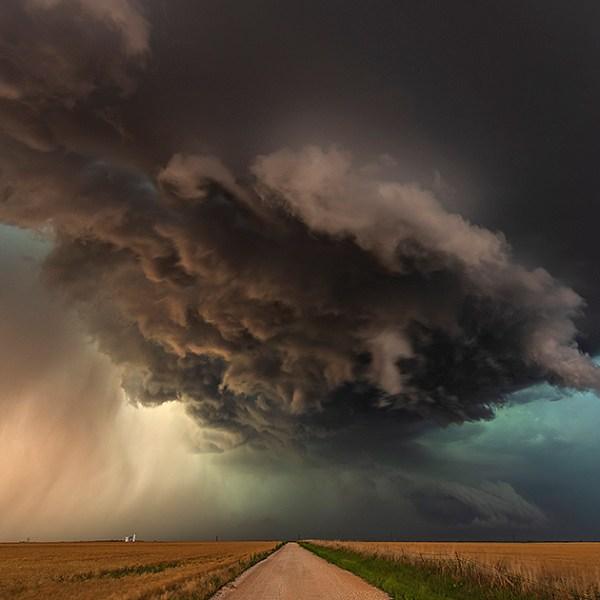 Tornado warned storm