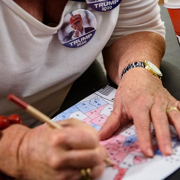 2020 electoral map trump voter