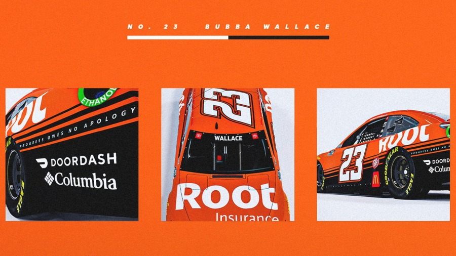 Bubba Wallace Root little cars