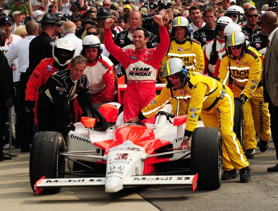 Castroneves 2009 Indianapolis 500 win car