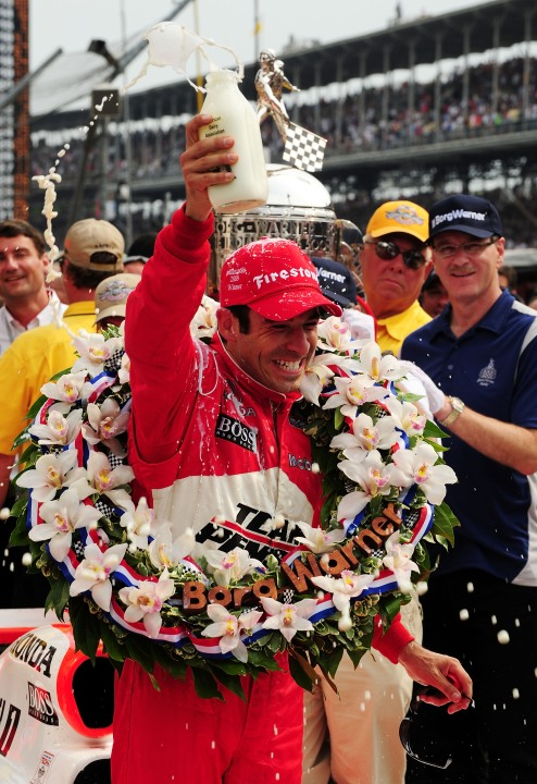 Castroneves 2009 Indianapolis 500 win