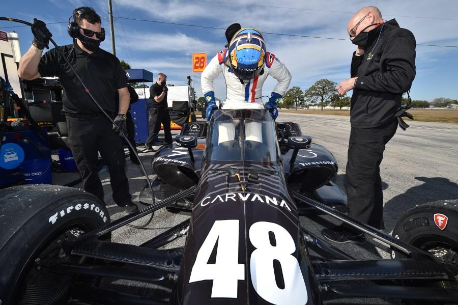 Jimmie Johnson Sebring test 1