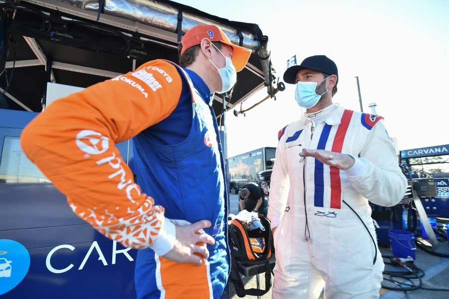 Jimmie Johnson Sebring test 3