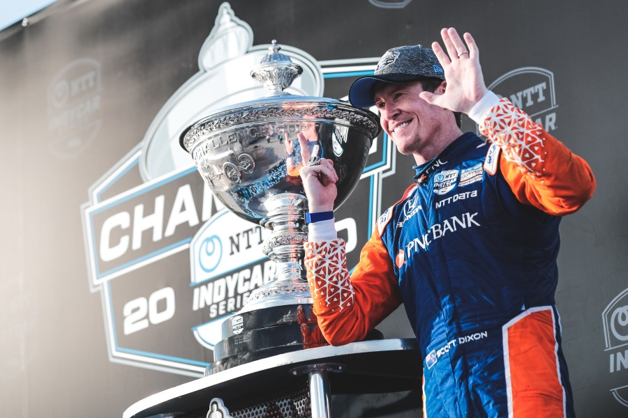Scott Dixon 2020 IndyCar championship