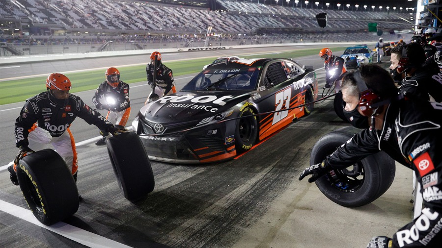 Ty Dillon Daytona Clash Root Insurance