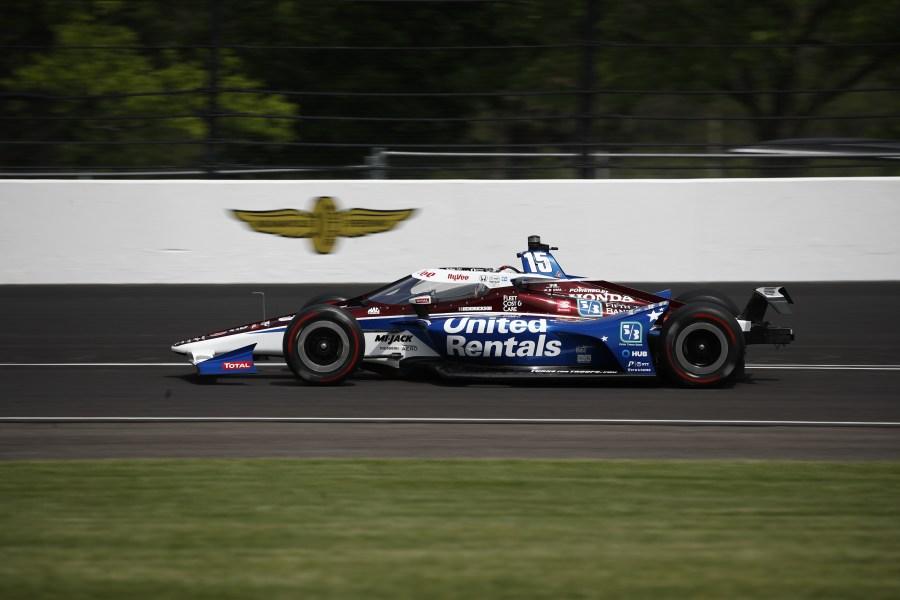 Rahal Indy 500 practice