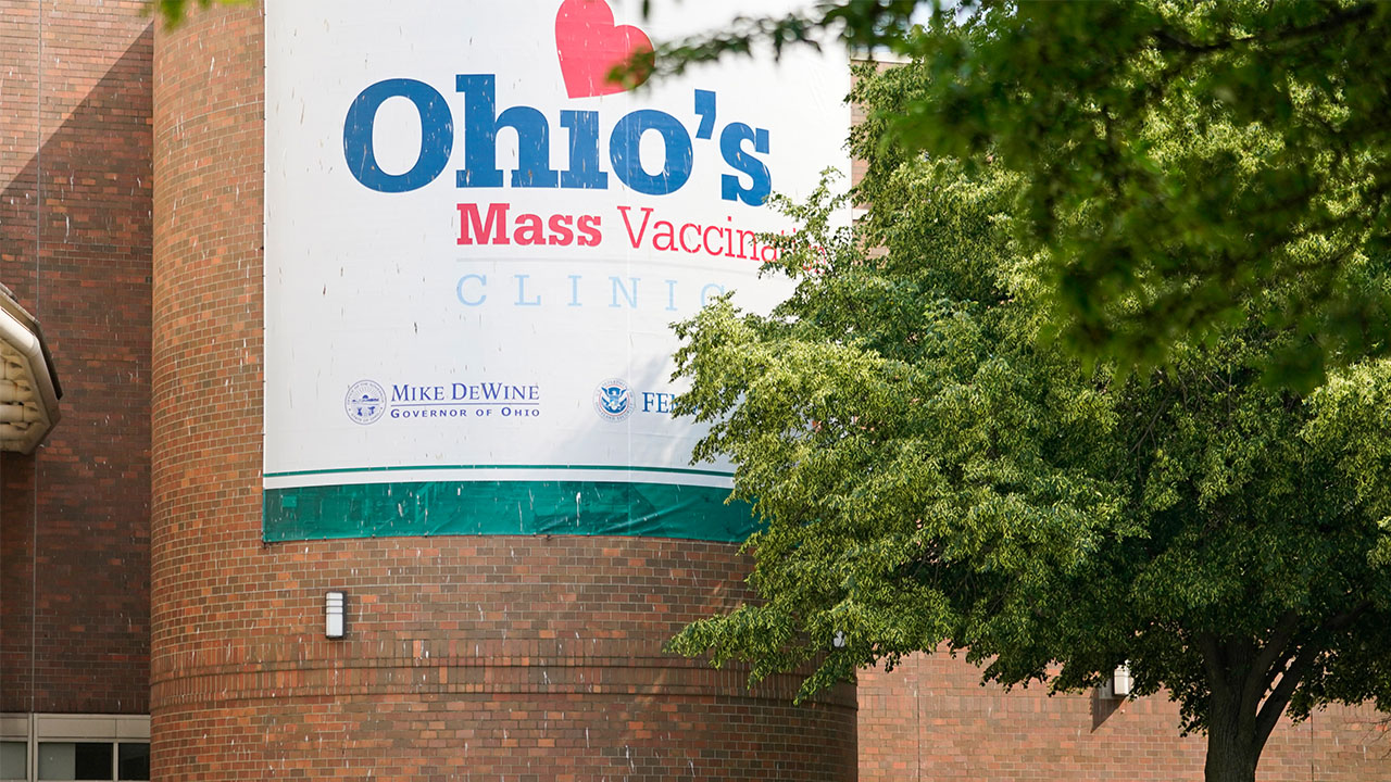 Cleveland State mass vaccination clinic