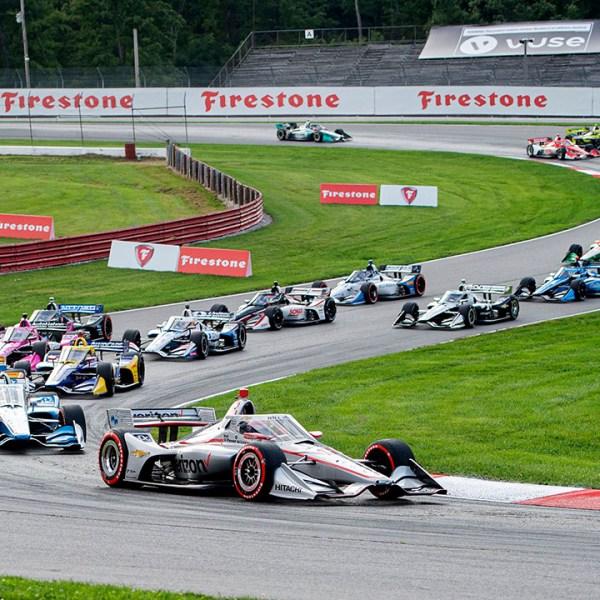 IndyCar Mid-Ohio 2020 race 1
