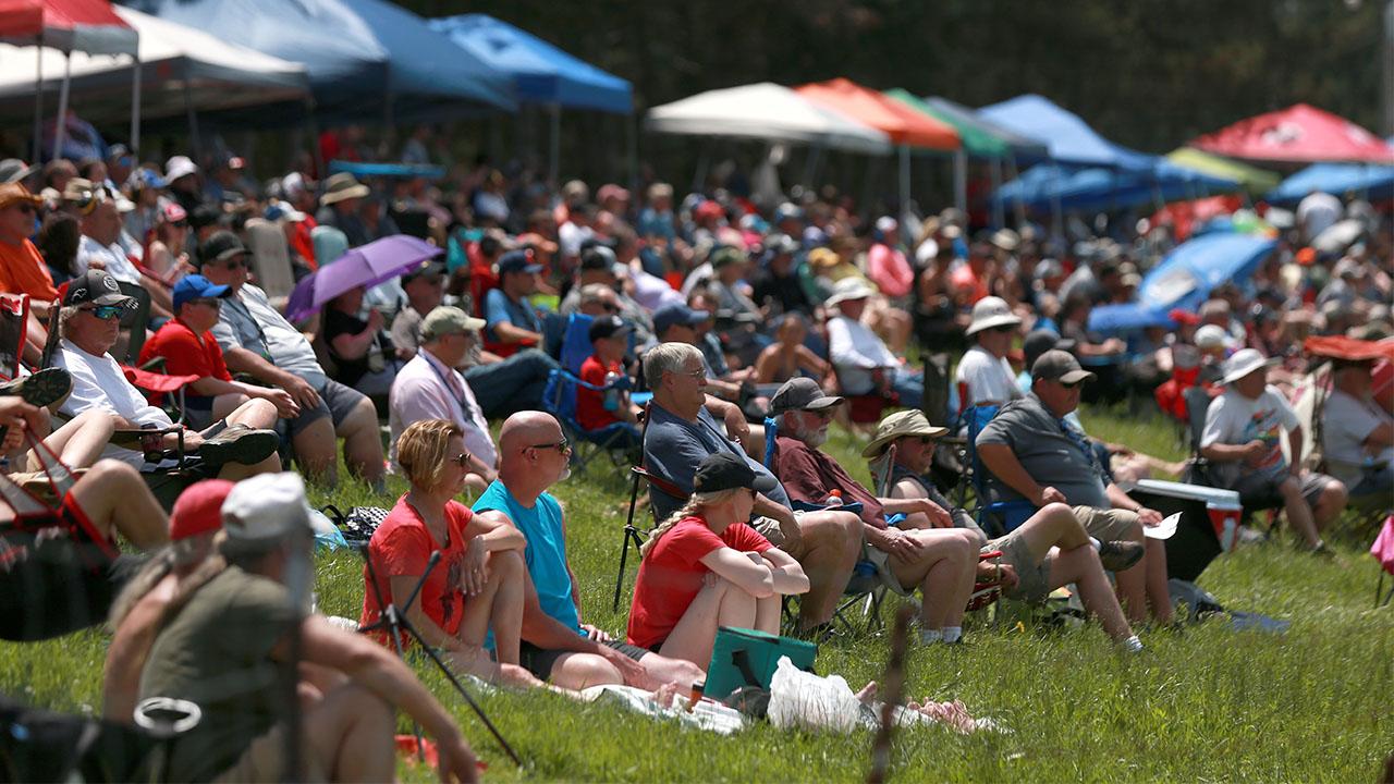 Mid-Ohio NASCAR crowd 2021