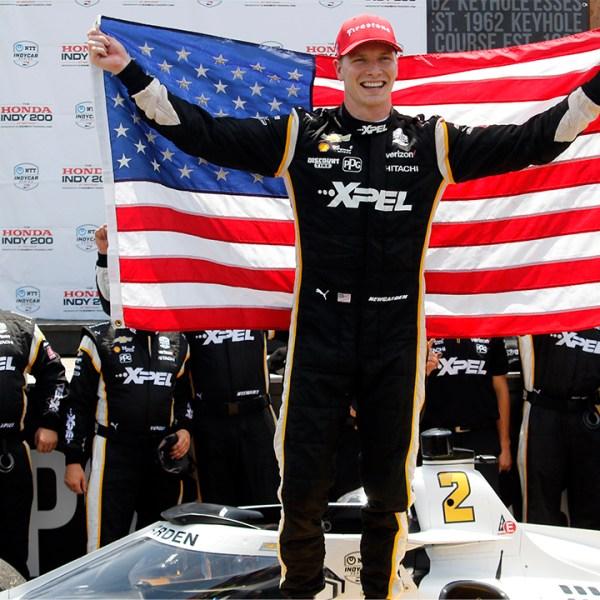 Josef Newgarden IndyCar Mid-Ohio win 2021