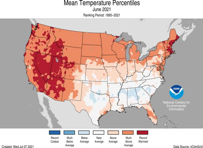 June-2021-US-Average-Temperature-Percentiles-Map
