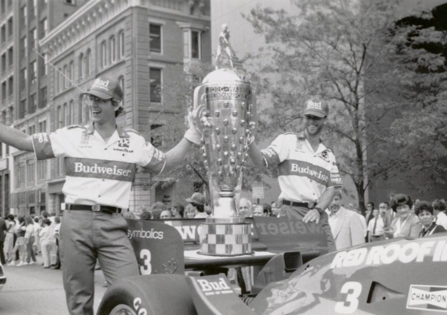 Truesports 1986 Indianapolis 500 parade