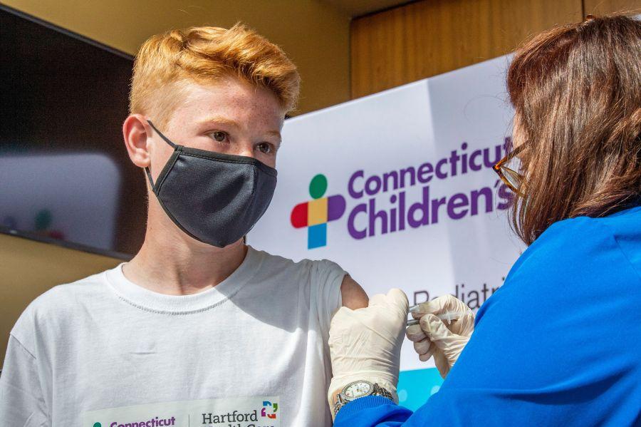 connecticut child teen covid vaccine