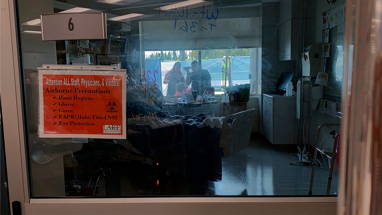 Missouri hospital delta covid