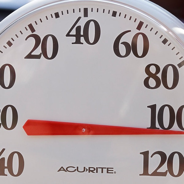 cincinnati reds 100 degree thermometer heat