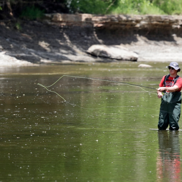 Chagrin River Ohio fly fishing