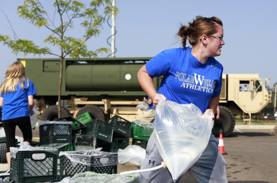 Toledo water crisis 2014