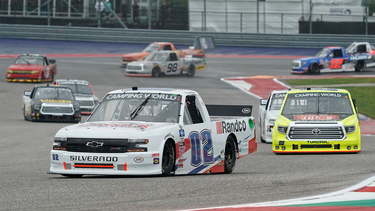 nascar truck series circuit of the americas