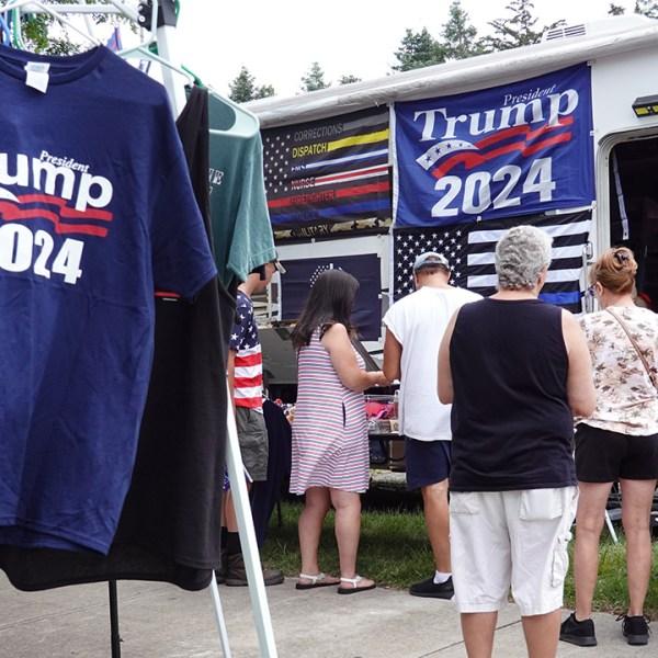 trump 2024 merchandise ohio campaign rally 2021